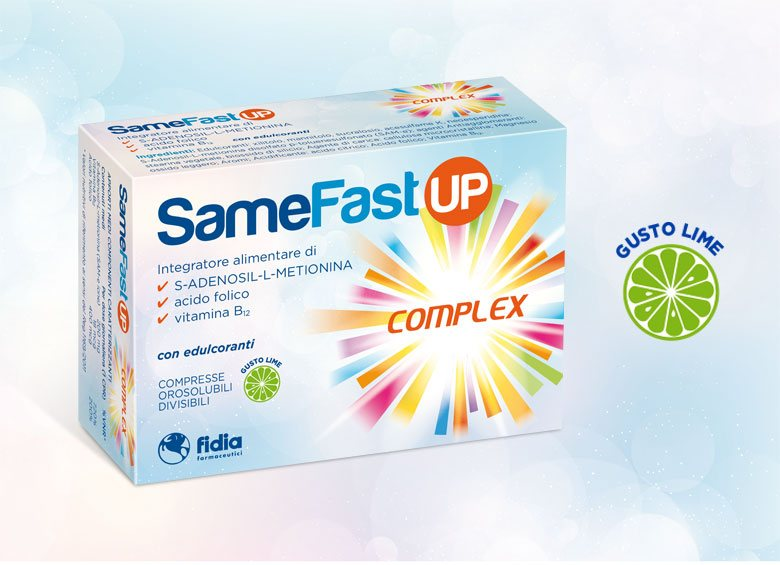 Scopri SameFast UP Complex, integratore alimentare per il tono dell'umore