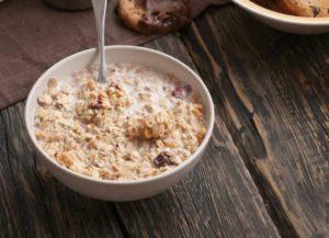 Ricetta porridge di avena a colazione