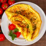 Ricette del buonumore: omelette al basilico e pinoli